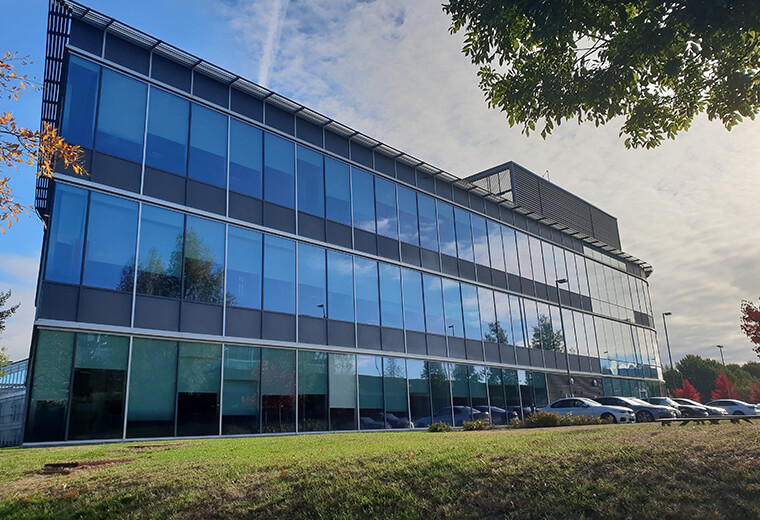 Office building view Perceptum Limited United Kingdom