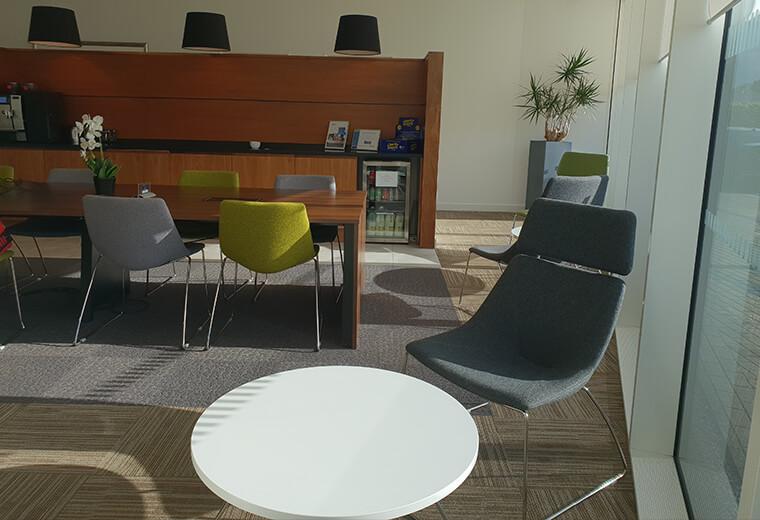 Meeting Perceptum Limited seating area
